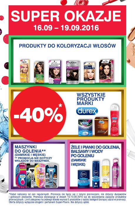 Perfumy za 69,99zł oraz 40% zniżki na wybrane kategorie @ Super-Pharm