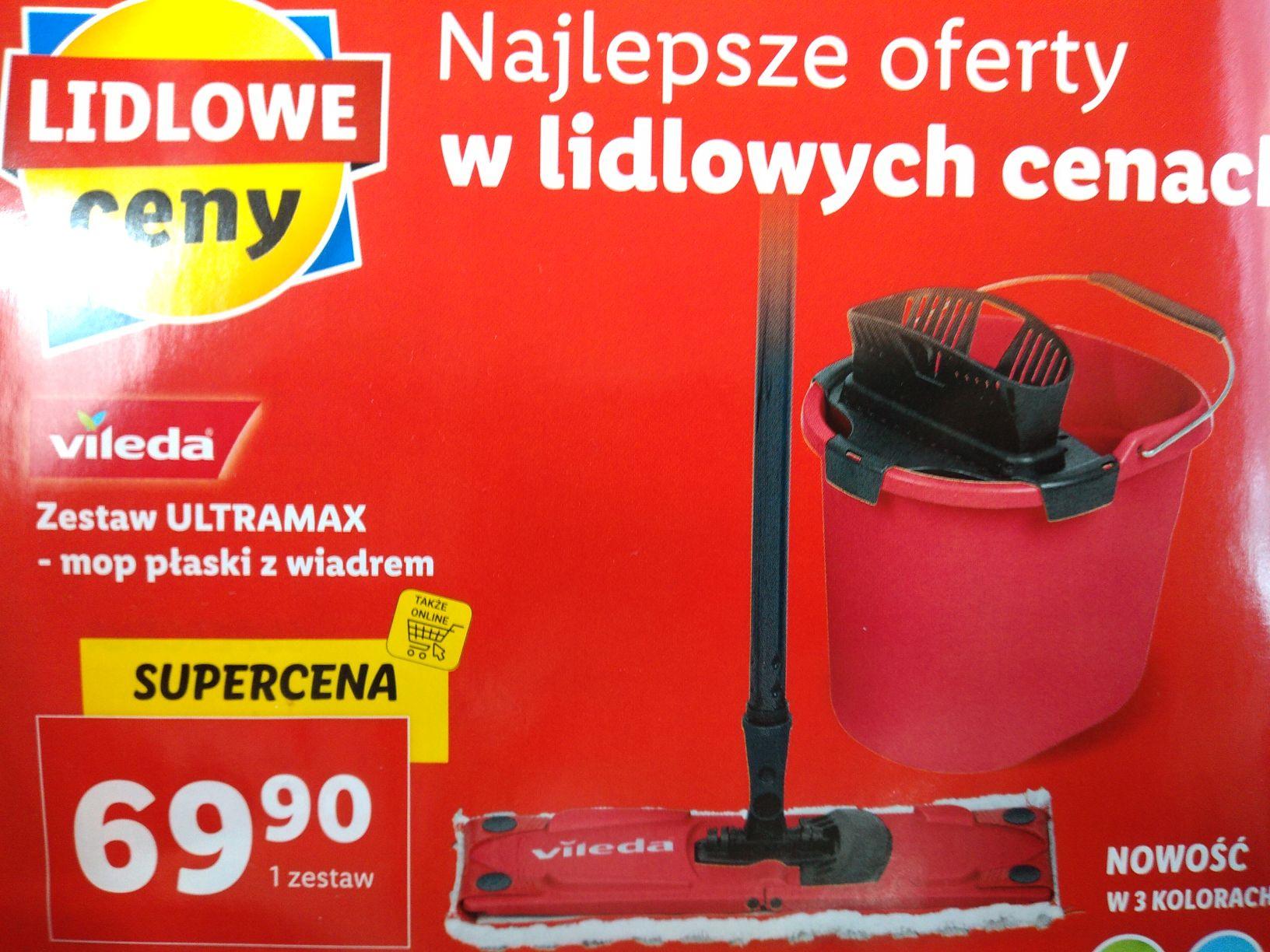 Zestaw Vileda Ultramax - Lidl