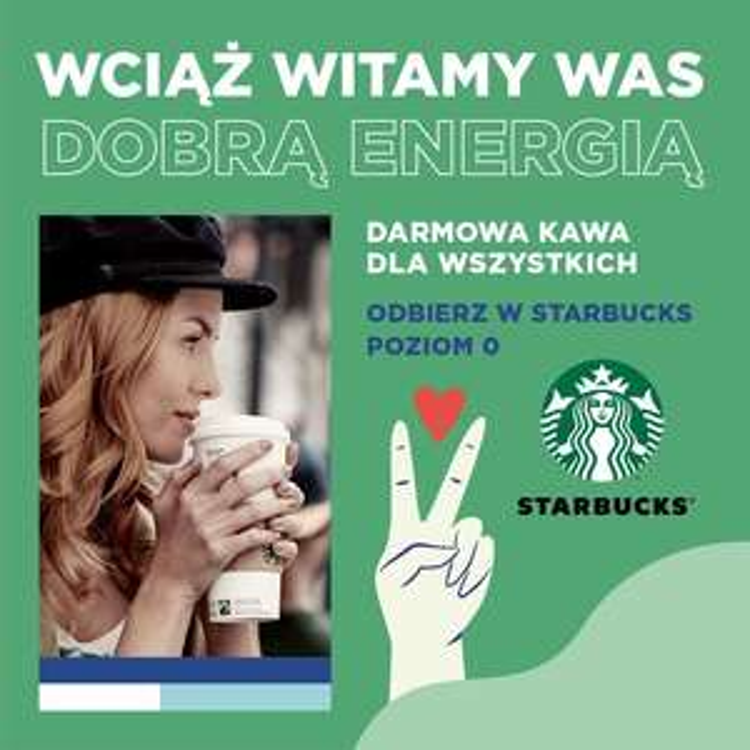 Darmowa kawa Starbucks w Libero Katowice