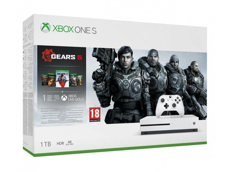 Microsoft Xbox One S 1TB + GoW 5