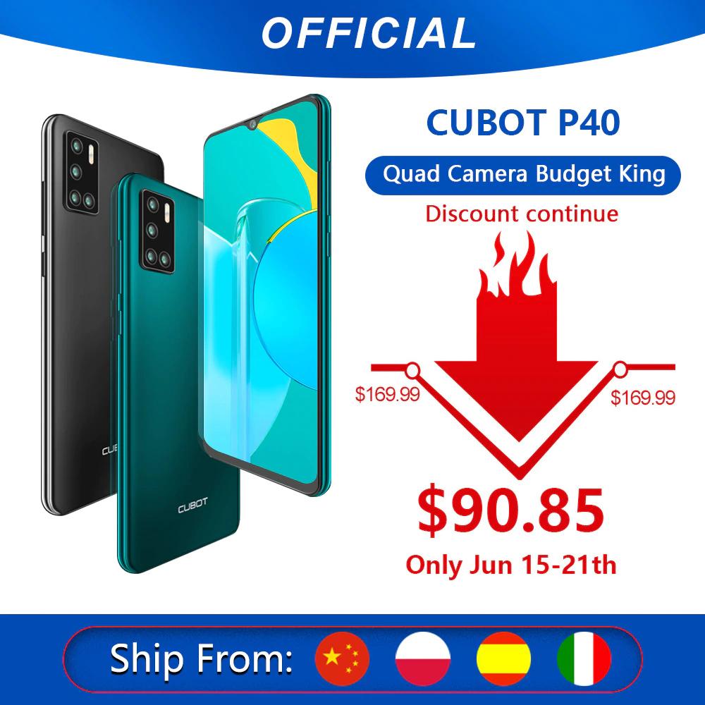 CUBOT P40 $90.85