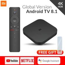 Xiaomi Mi TV BOX S - w dobrej cenie - 4K Ultra HD Android TV 8.1 HDR 2G 8G WiFi Google Netflix Smart TV - Mi Box 4 Global - 49,48$