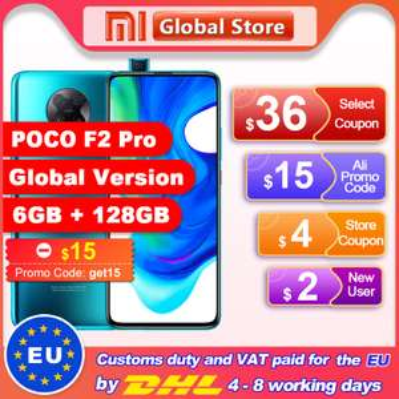 Pocophone F2 Pro 6/128GB, Global
