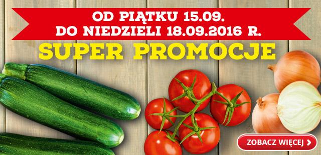 Warzywa w super promocjach @Biedronka