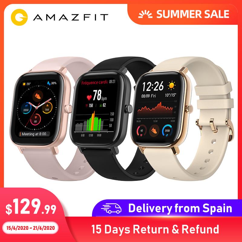 Amazfit GTS z Hiszpanii $100.15