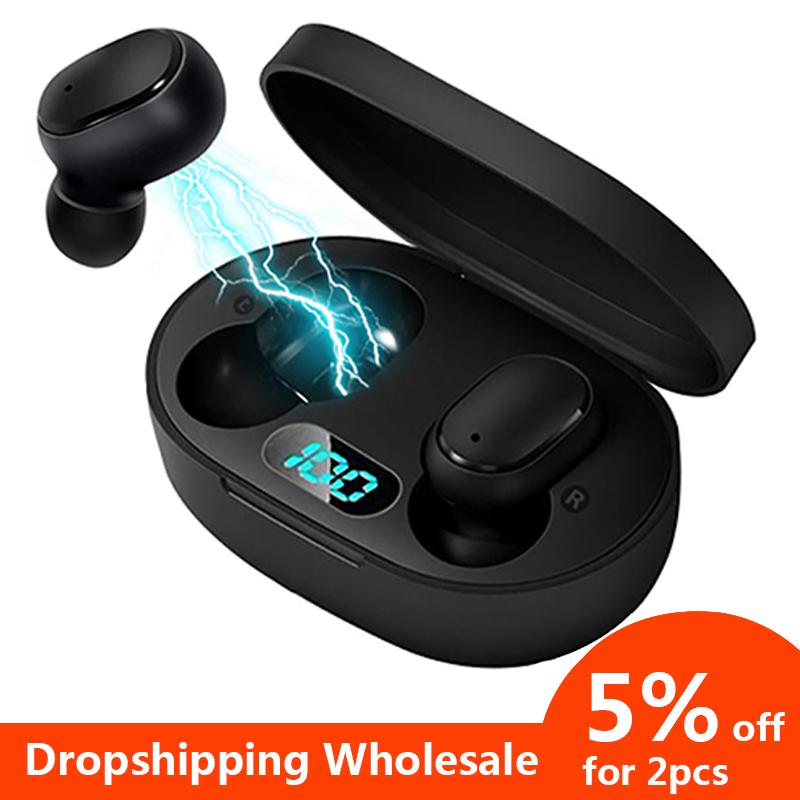 A6L Tws Bezprzewodowe słuchawki Bluetooth 5.0 $8.87