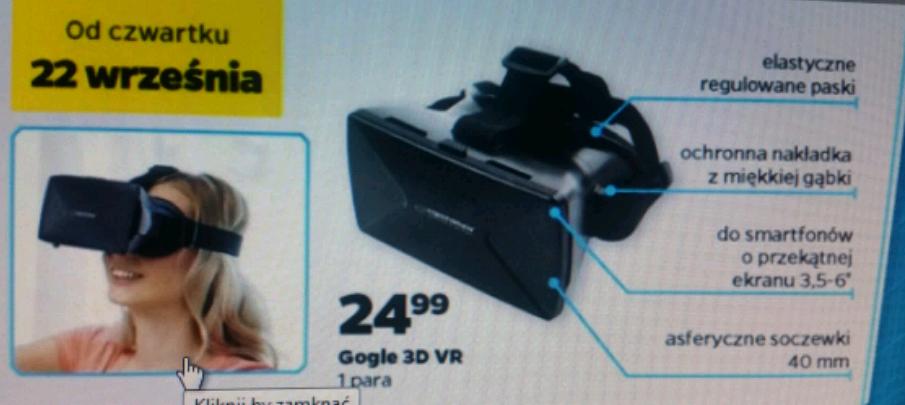 Gogle 3D VR  NETTO