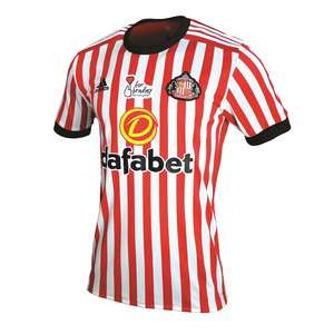 Koszulka AFC Sunderland 2017/18 na stronie fundacji charytatywnej