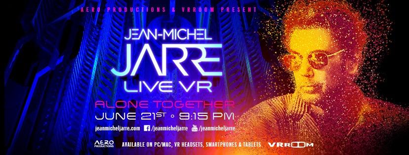 Jean-Michel Jarre - LIVE - wirtualny koncert ZA DARMO