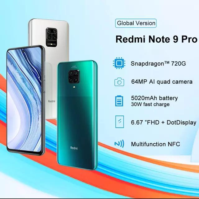 Xiaomi Redmi Note 9 PRO 6/128 211.07 $ nawet 192$t za 192