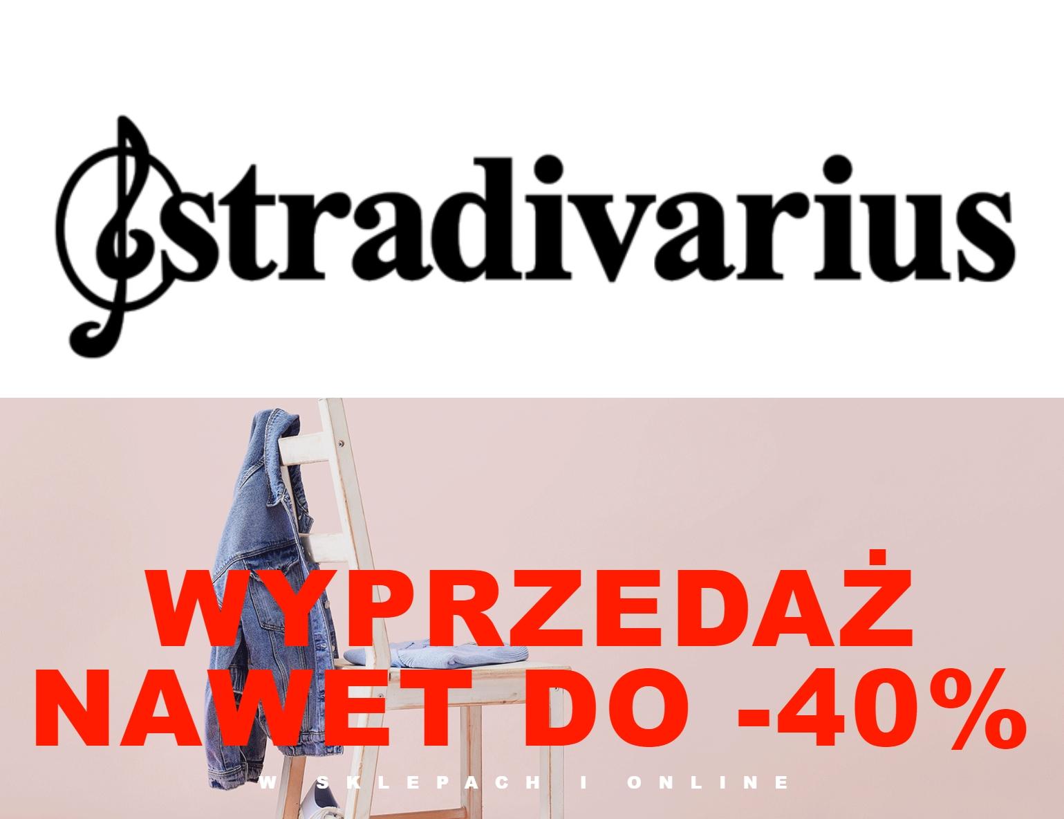 Sezonowa wyprzedaż odzieży w @Stradivarius - do -40%
