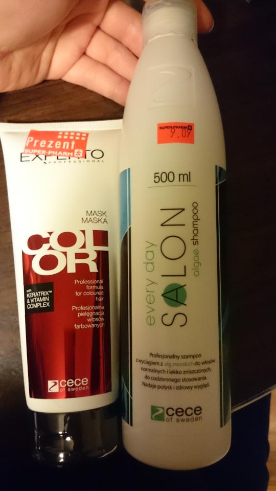 szampon 500 ml plus maska do włosów 200 ml za 9,09 zł @super pharm