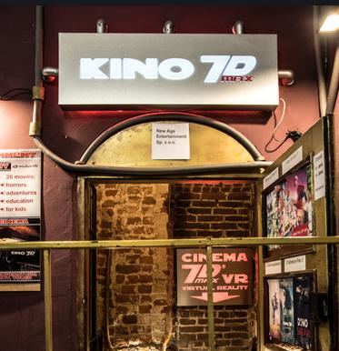 Do 23% zniżki na bilety do Kina 7D Max w Krakowie @ Groupon