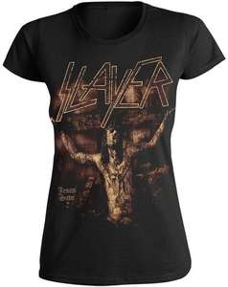 Koszulka damska SLAYER Jesus Save ?