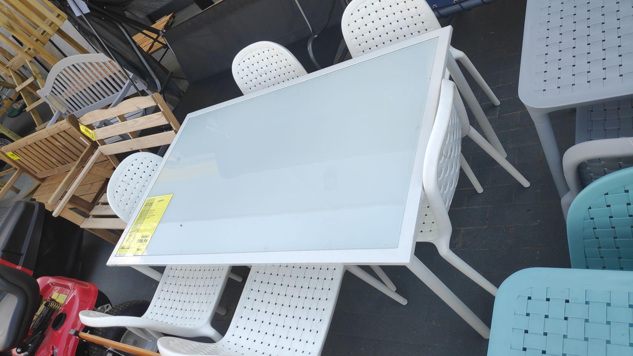 Zestaw fresh Stół + 6 krzeseł