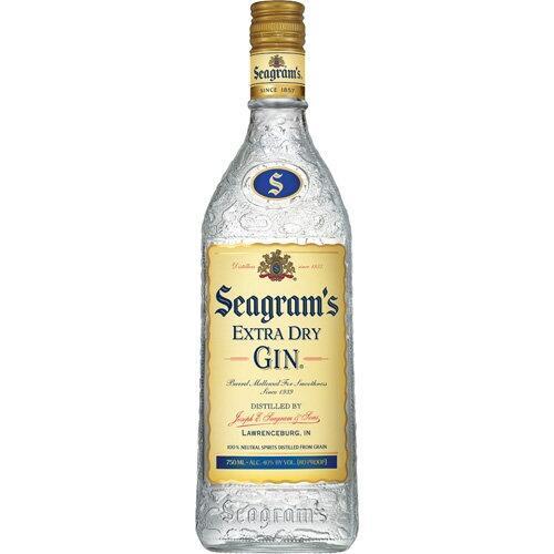 Gin Seagram's 70zł przy zakupie 2 butelek 0.7 w Biedronce Biedronka