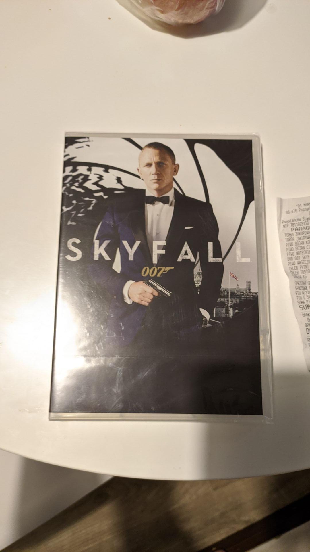 Skyfall DVD Eurospar Arkady Wrocławskie