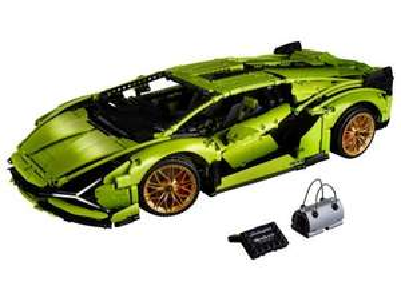 LEGO Technic Lamborghini Sián FKP 37 42115 @ Gandalf.com.pl