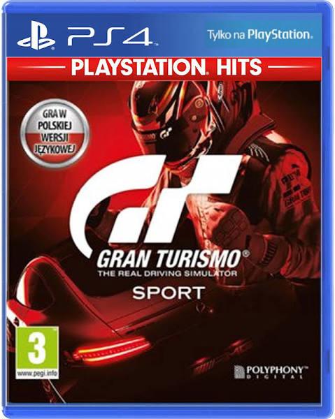 Gran Turismo Sport PL PS4 (Współpraca z goglami Playstation VR )
