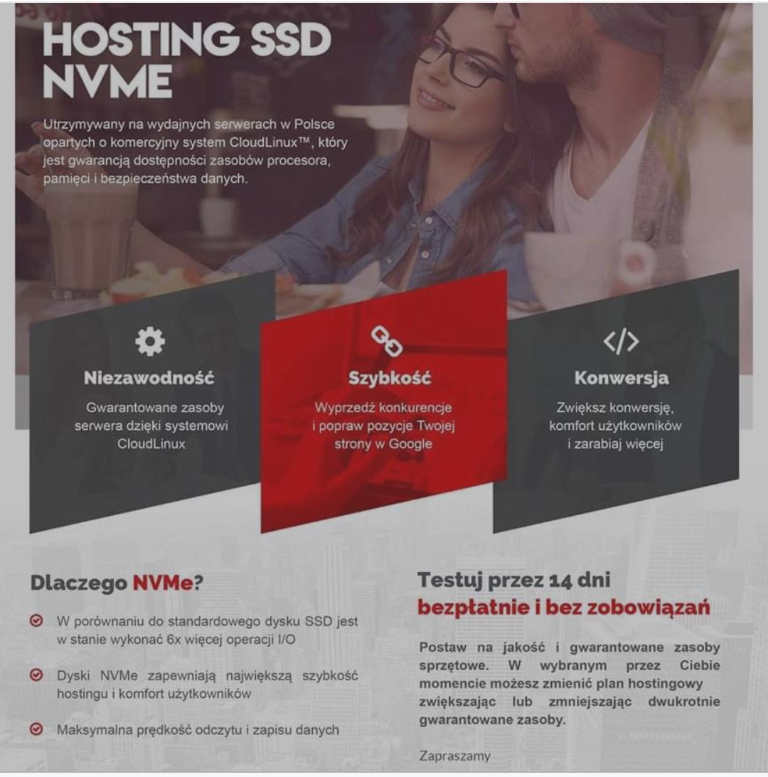 -55% na Hosting w Hostinguj.pl