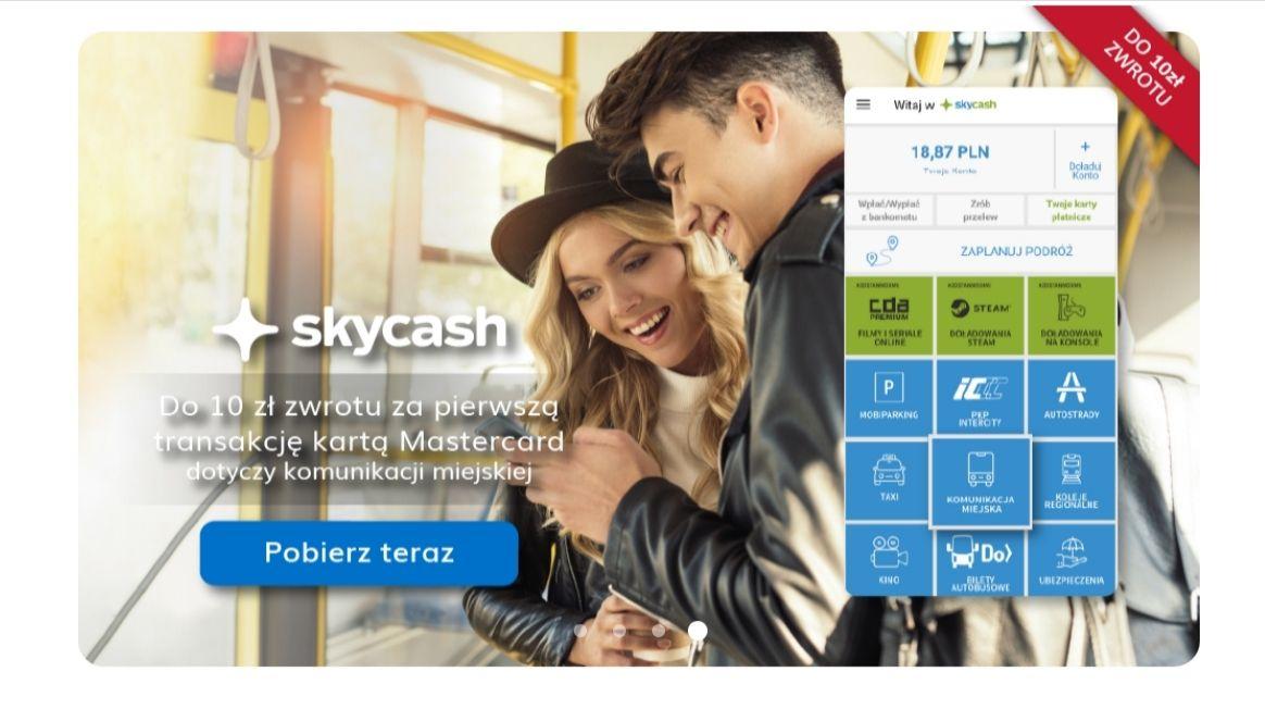 10 zł zwrotu za pierwsza transakcję SkyCash. Huawei