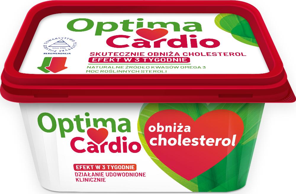 Margaryna Optima Cardio Kup i otrzymaj zwrot Lidl