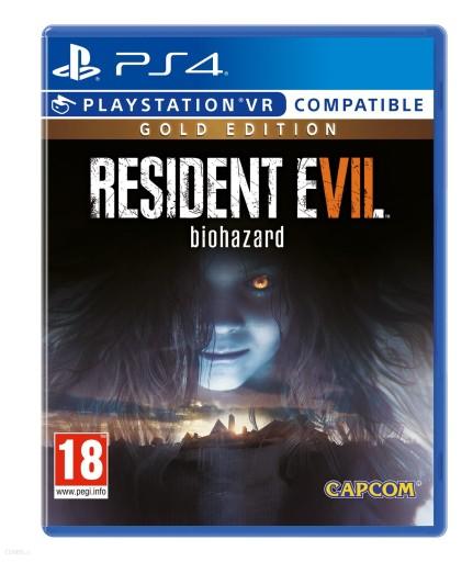 RESIDENT EVIL VII 7 BIOHAZARD GOLD VR PS4 NOWA PL