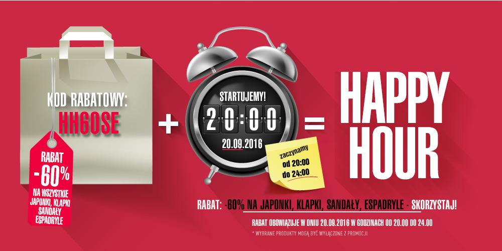 Riccardo.pl Happy Hour od 20.00-24.00 60% mniej na sandały