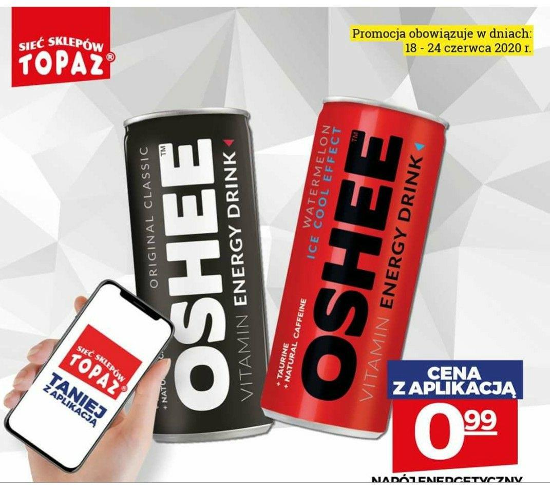 Topaz napój energetyczny Oshee 250ml max 5szt.