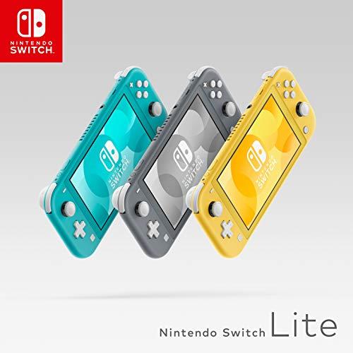 Nintendo Switch Lite niebieski oraz żółty
