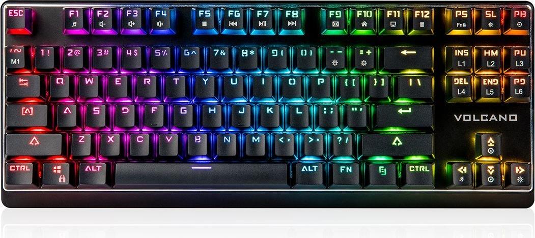 Klawiatura Modecom LanParty RGB Outemu Blue na morele