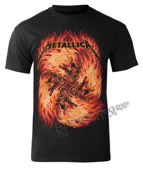 Koszulka Metallica Skull Circle