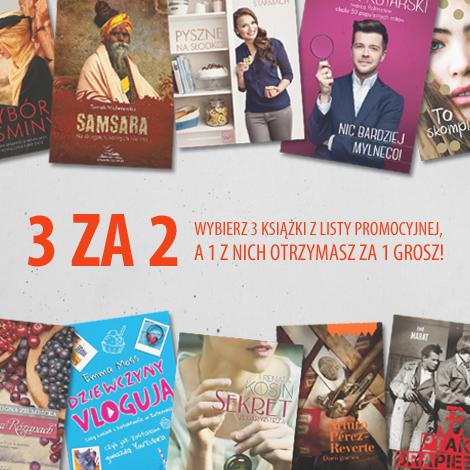 Znak, Przy zakupie 3 książek 1 z nich za grosz.