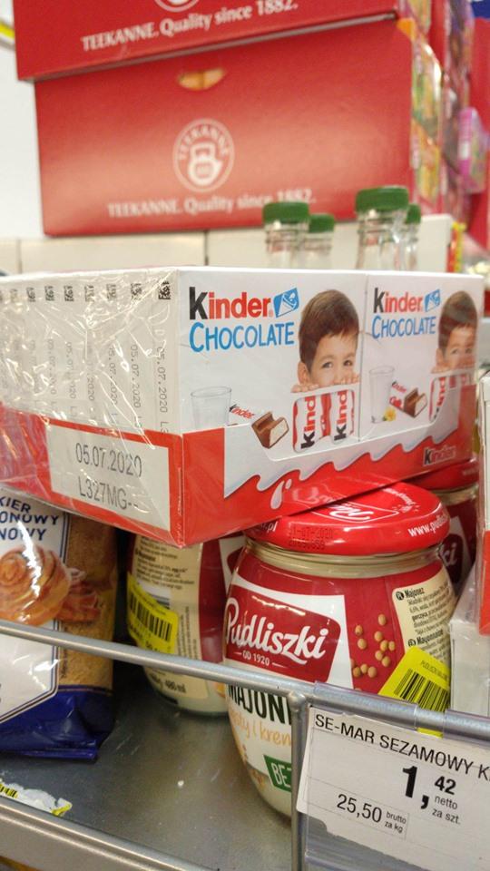 Kinder Chocolate Makro Rybnik
