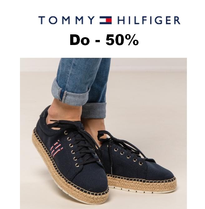 Do -50% na damskie buty Tommy Hilfiger w @Zalando