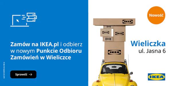 Odbiór osobisty nowy punkt Ikea Wieliczka za 1 zł