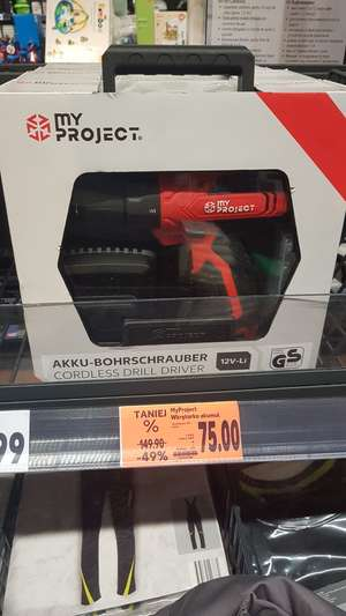 Wkretarka akumulatorowa 12v My Project @Kaufland Łódź