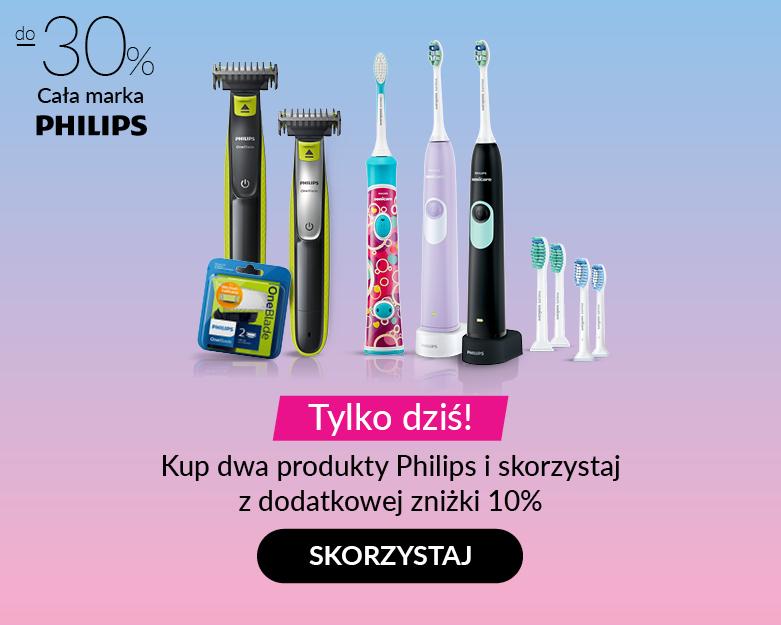 Hebe - Produkty PHILIPS do -30% + dodatkowe 10% na drugi produkt