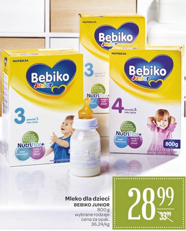 Mleko Bebiko 800g za 28,99zł @ Carrefour