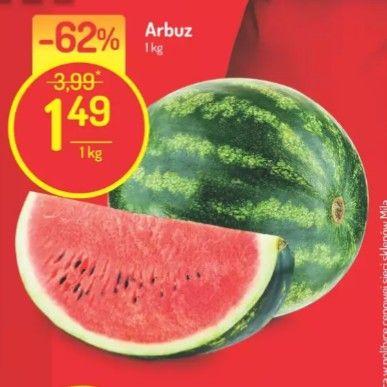 Arbuz 1,49/kg Mila