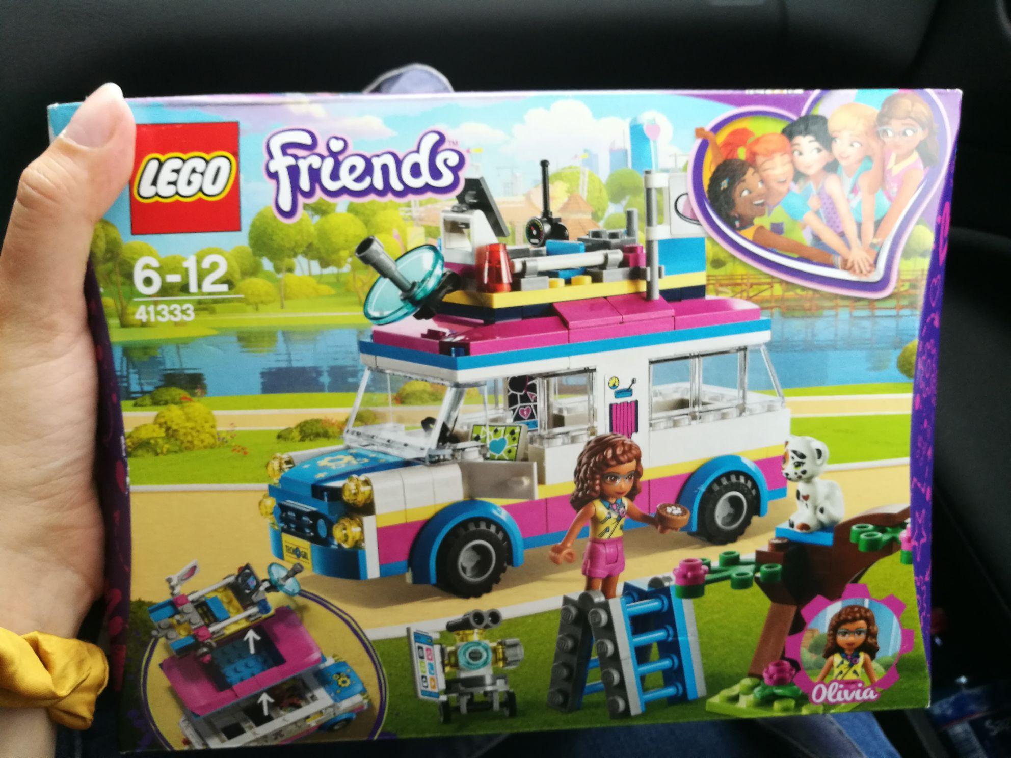 Błąd cenowy w Rossmann lego friends furgonetka Olivii