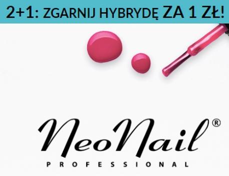 2 +1 lakier za 1 zł w @NeoNail - stacjonarnie i online