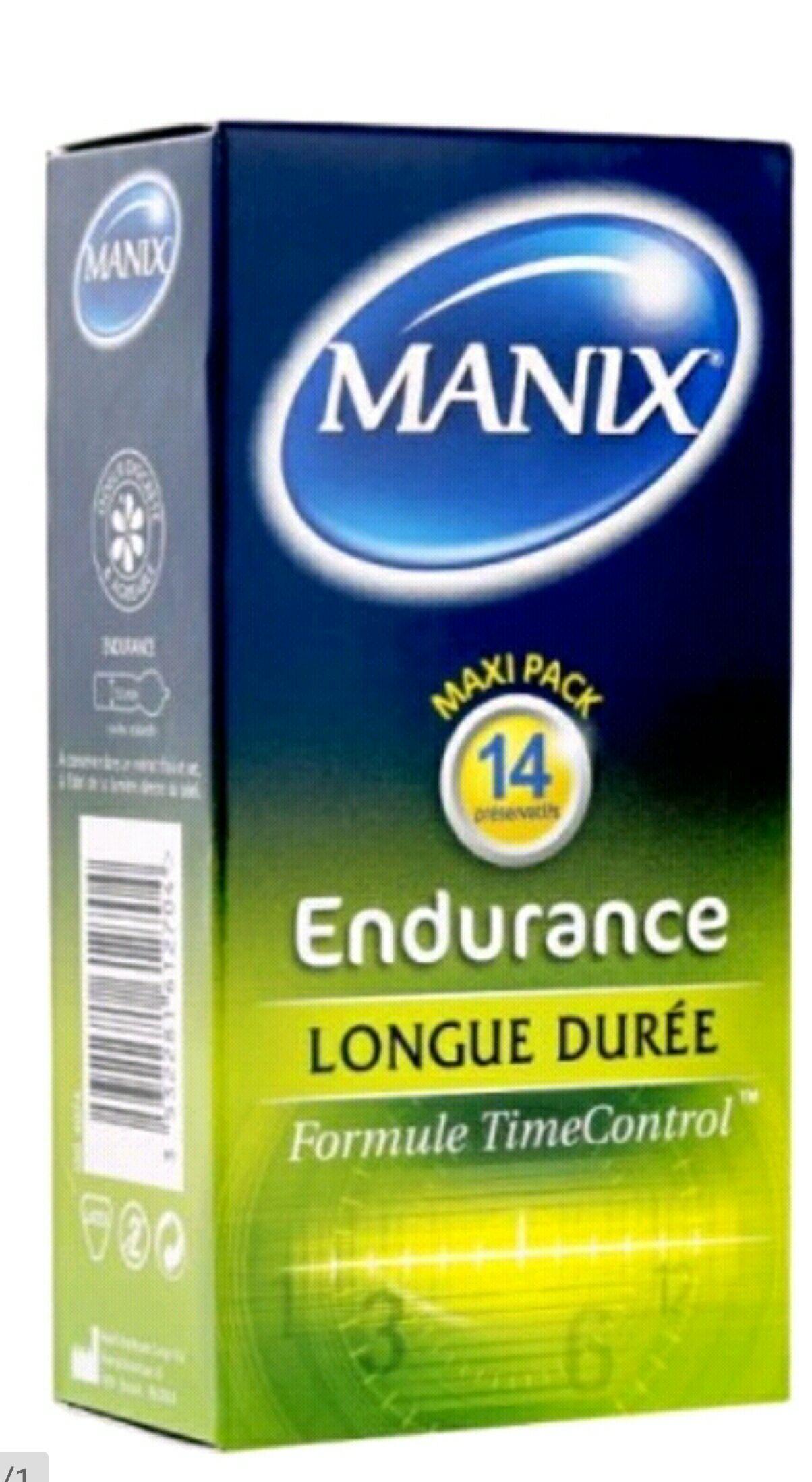 Prezerwatywy Manix Enduranance 14szt