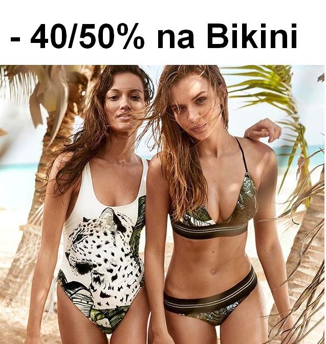 Komplety bikini - zestawienie promocji 40-50% - H&M, Zalando, About You