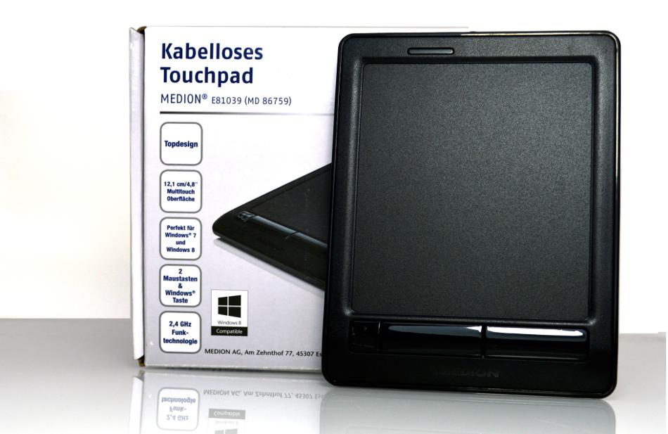 Bezprzewodowy Touchpad WI-FI Medion MD 86759 za 20 zł @ Allegro