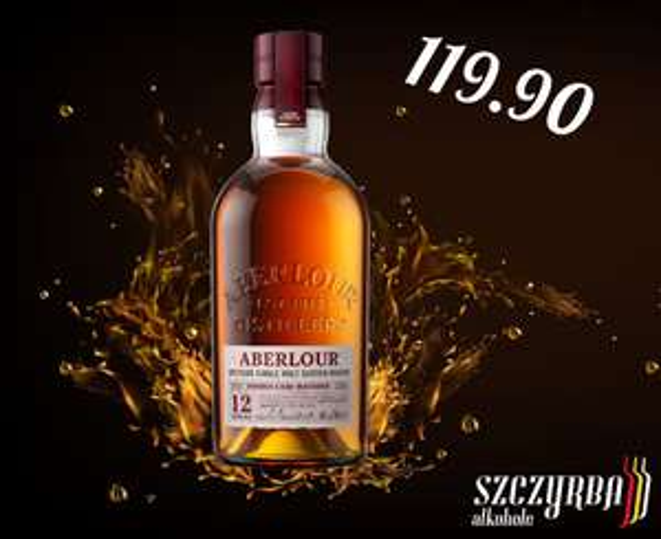 Whisky Aberlour 12 yo Double Cask 0,7 L + tuba Szczyrba alkohole