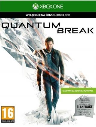 """QUANTUM BREAK + ALAN WAKE wraz z pakietem dodatków (""""Sygnał"""" oraz """"Pisarz"""") @ Xbox One"""