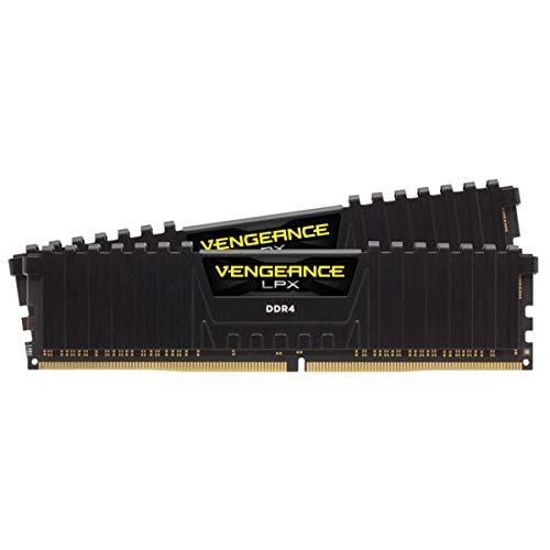 Corsair VENGEANCE LPX 16GB (2x8GB) DDR4 DRAM 3600MHz C18 Memory Kit - Black