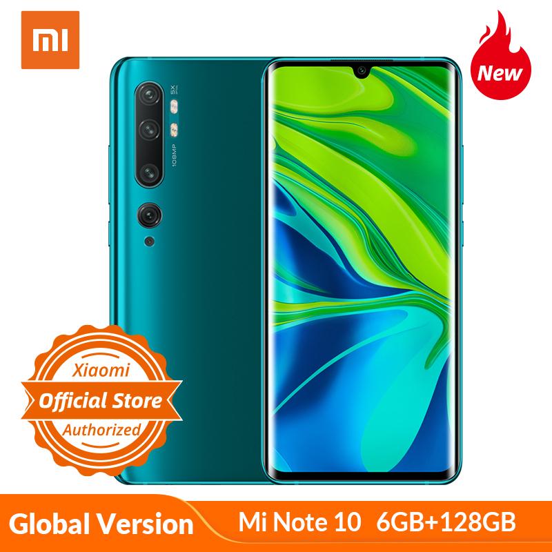 XIAOMI Mi Note 10, 6/128GB, Global, wysyłka z EU