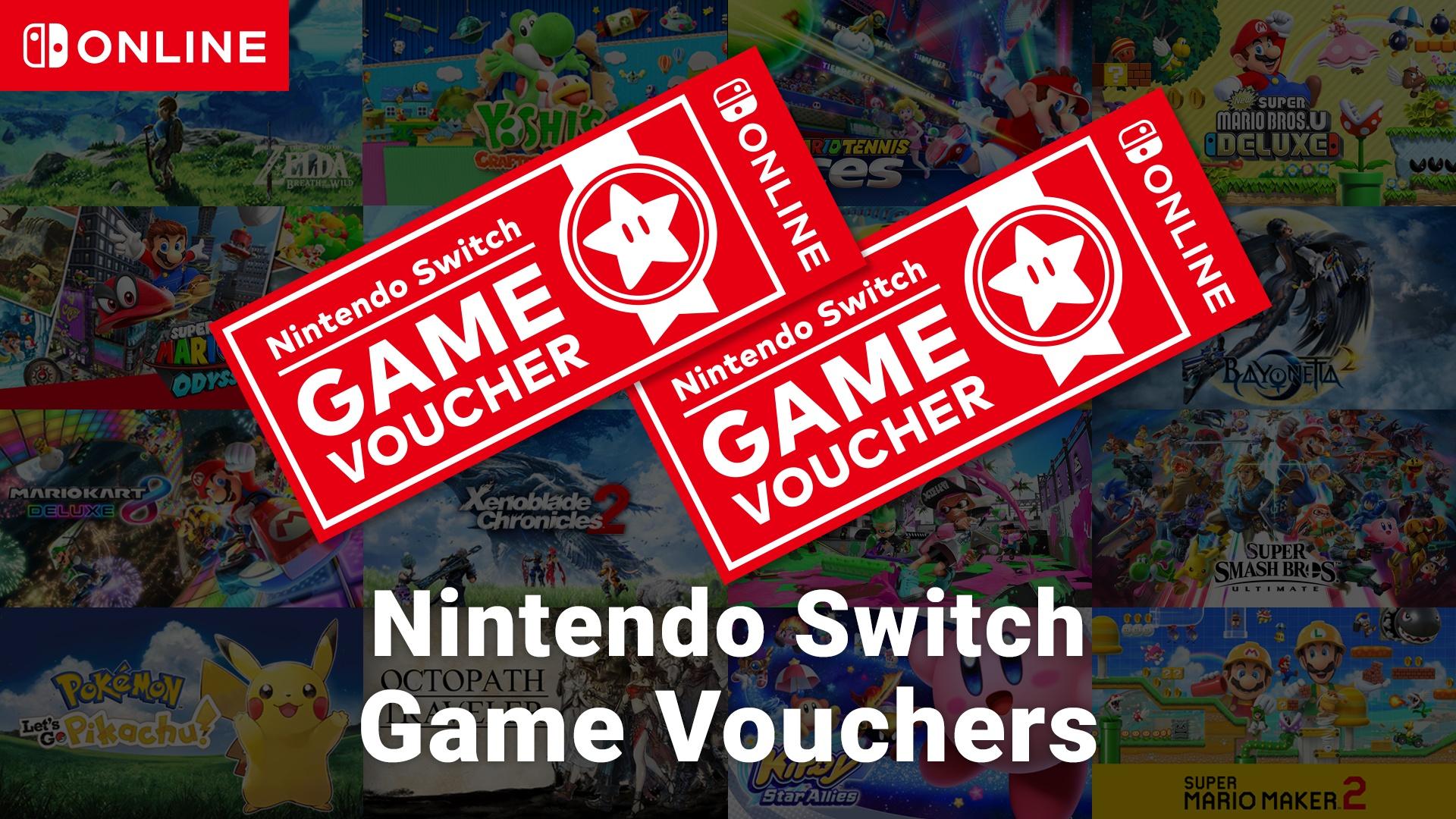Voucher na dwie gry ekskluzywne - Nintendo Switch (eShop)